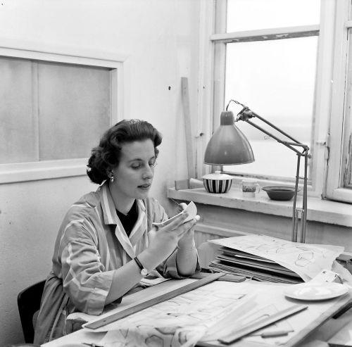 Ulla Procopé Finnish designer in black and white