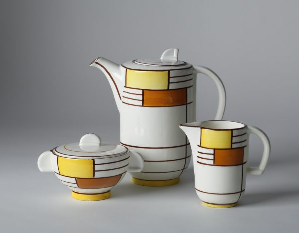 Eva Zeisel ceramic tea set