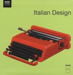 Italian Design MoMA book cover
