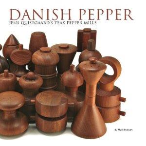 Danish Pepper Jens Quistgaard's Teak Pepper Mills