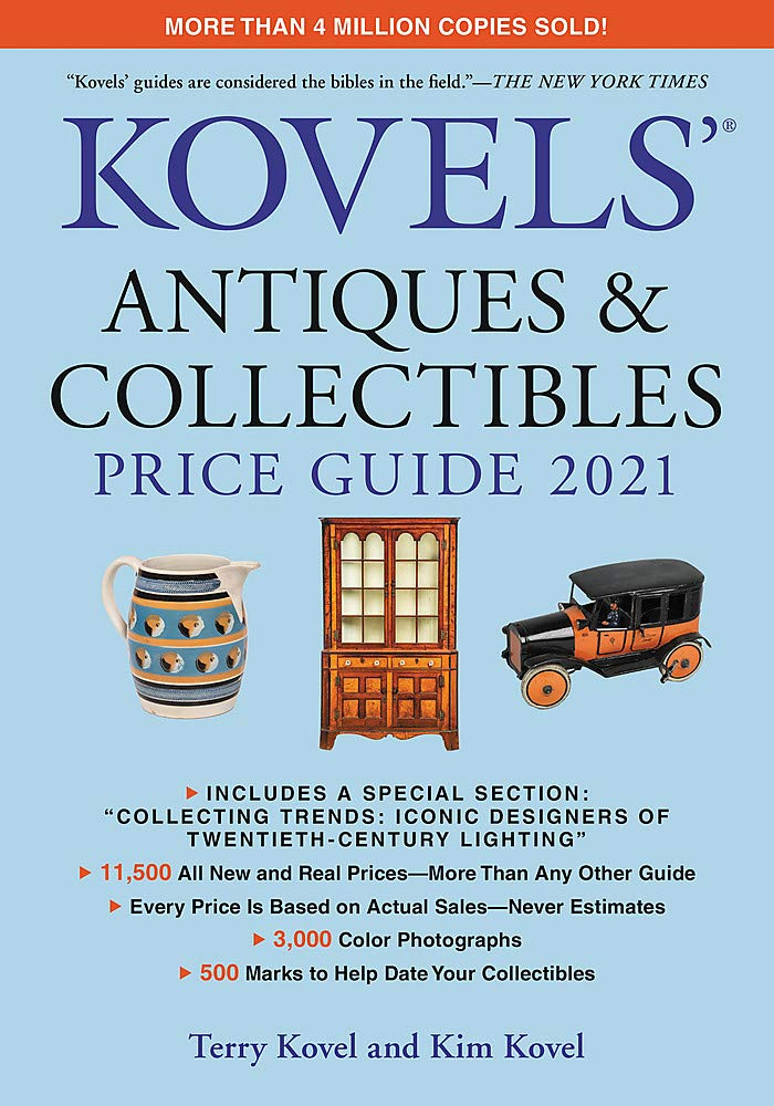 Kovels' Antiques and Collectibles Price Guide 2021 book cover