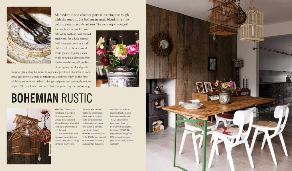 Modern Rustic Hardcover page sample