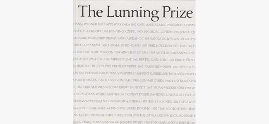 Lunning Prize featured image