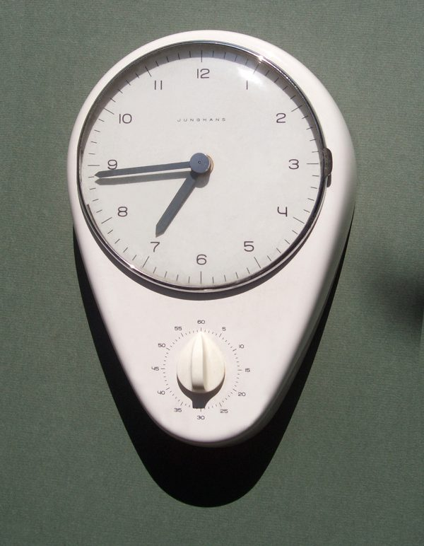 Kitchen Clock designed by Max Bill for Junghans