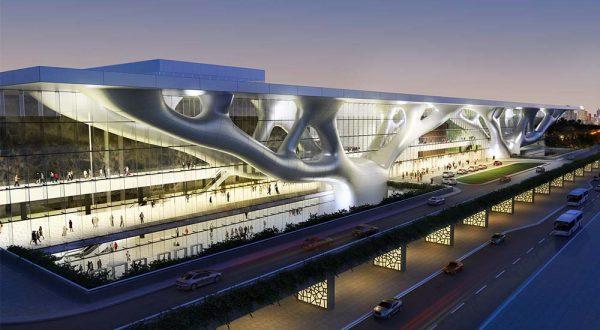 Arata Isozaki - Qatar convention centre