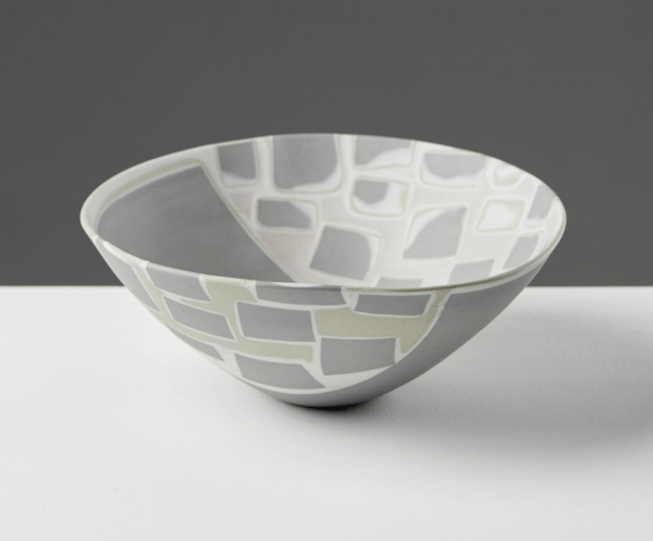 Finnish Bowl by Aune Siimes for Arabia, 1950s