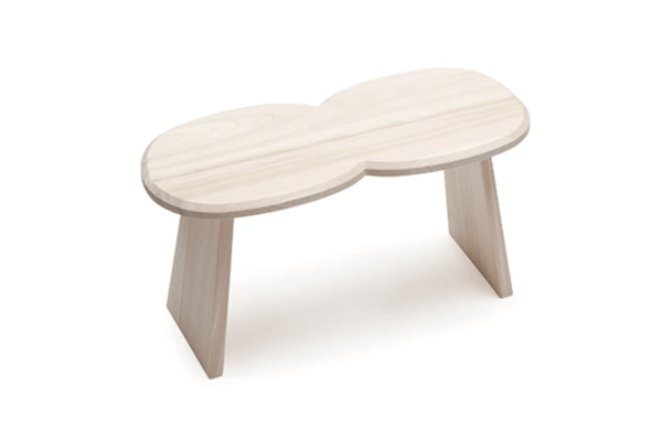 Double stool Designed by Wataru Kumano and Jasper Morrison