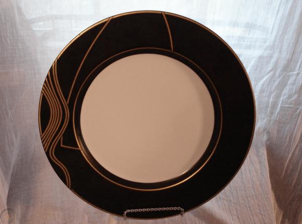 "'Stream' Swid Powell Porcelain 12"" Service Platter Plate"