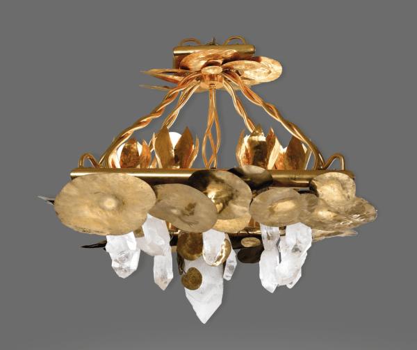 Chandelier designed by Robert Goossens (1927)
