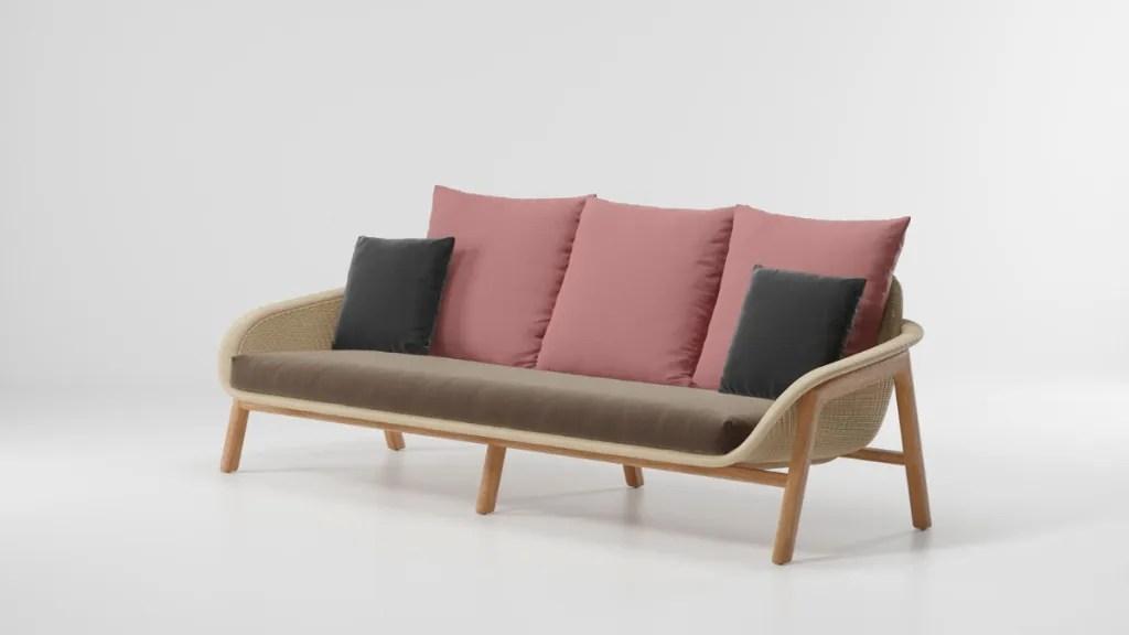 Vimini Collection featured image 3 seater sofa