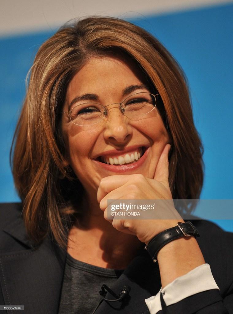 US journalist Naomi Klein