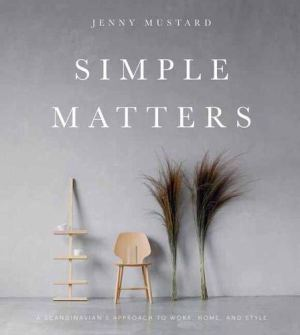 simple matters book cover by Jenny Mustard
