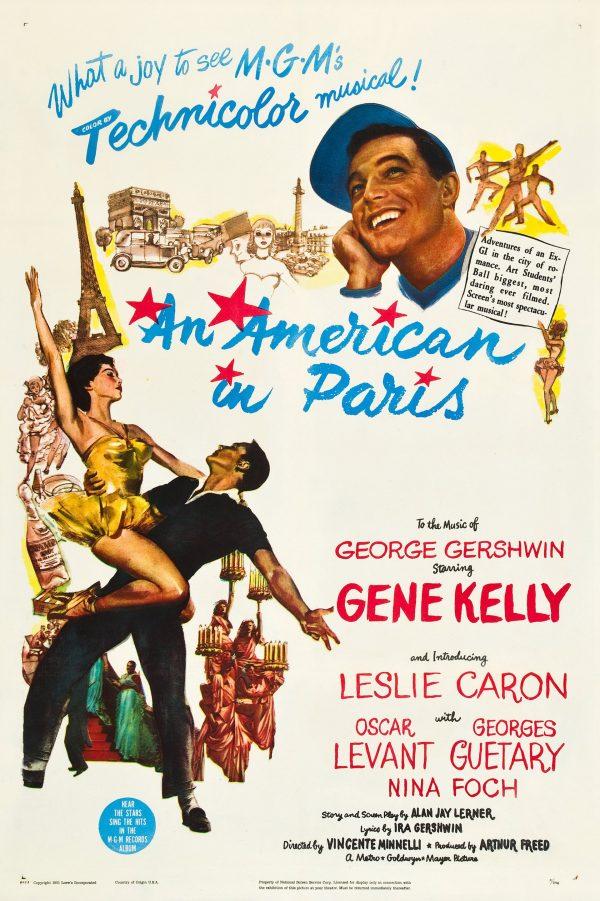 American in Paris poster