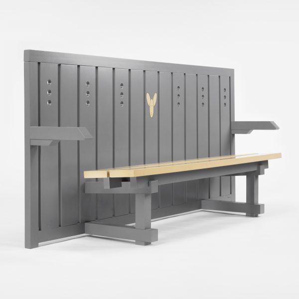 Judolia bench (1989) by Andrea Branzi