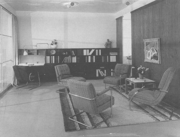 Plan furniture - Serge Chermayeff