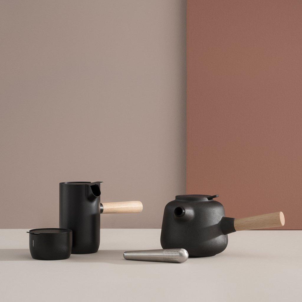 Stelton Collar Teapot in black