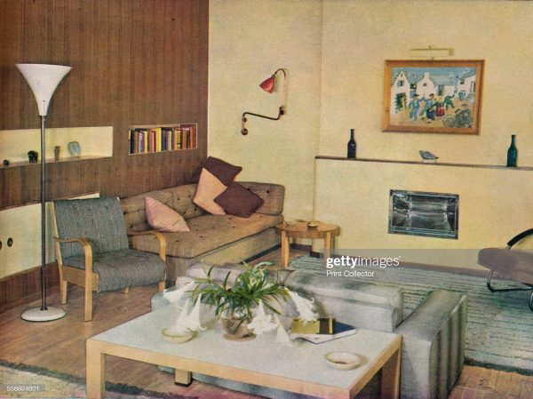 'Sitting room designed by Sege Chermayeff', c1941.