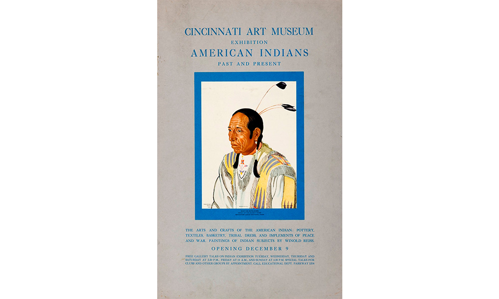 Poster American Indian by Winold Reiss