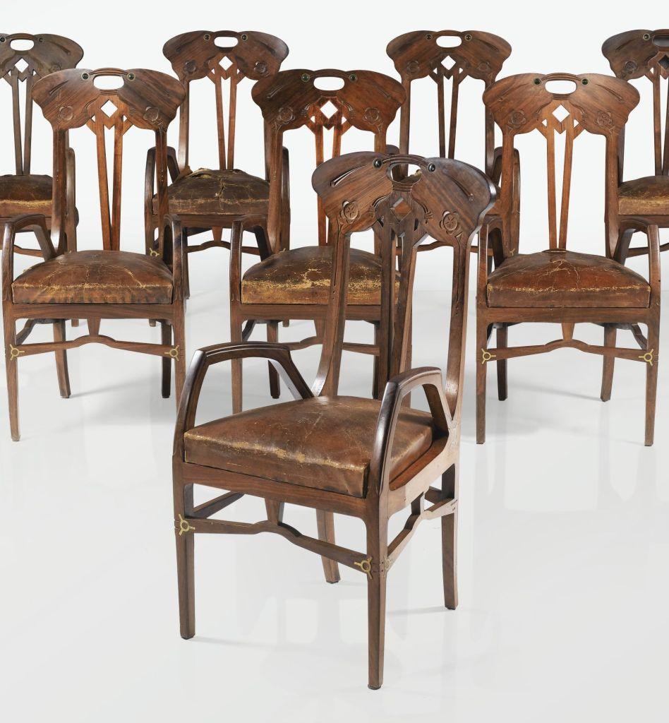 Art Noveau furniture by Eugenio Quarto