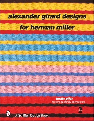 Alexander Girard Designs for Herman Miller book cover art