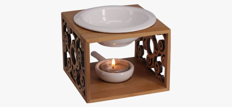 Bamboo oil burner featured image