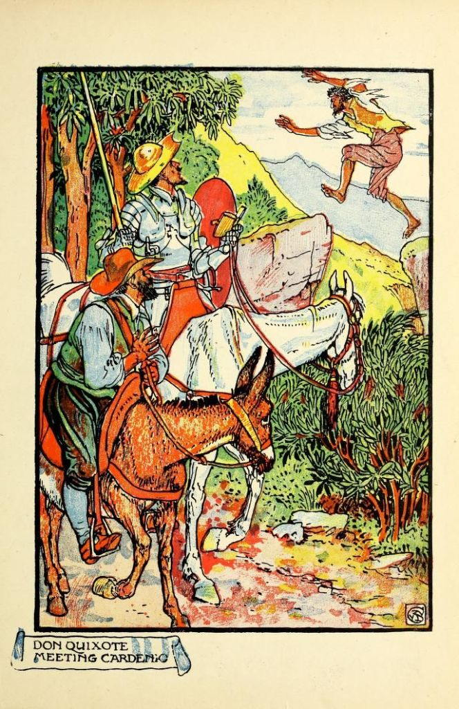 Don Quixote of the Mancha _ retold by Judge Parry ; illustrated by Walter Crane