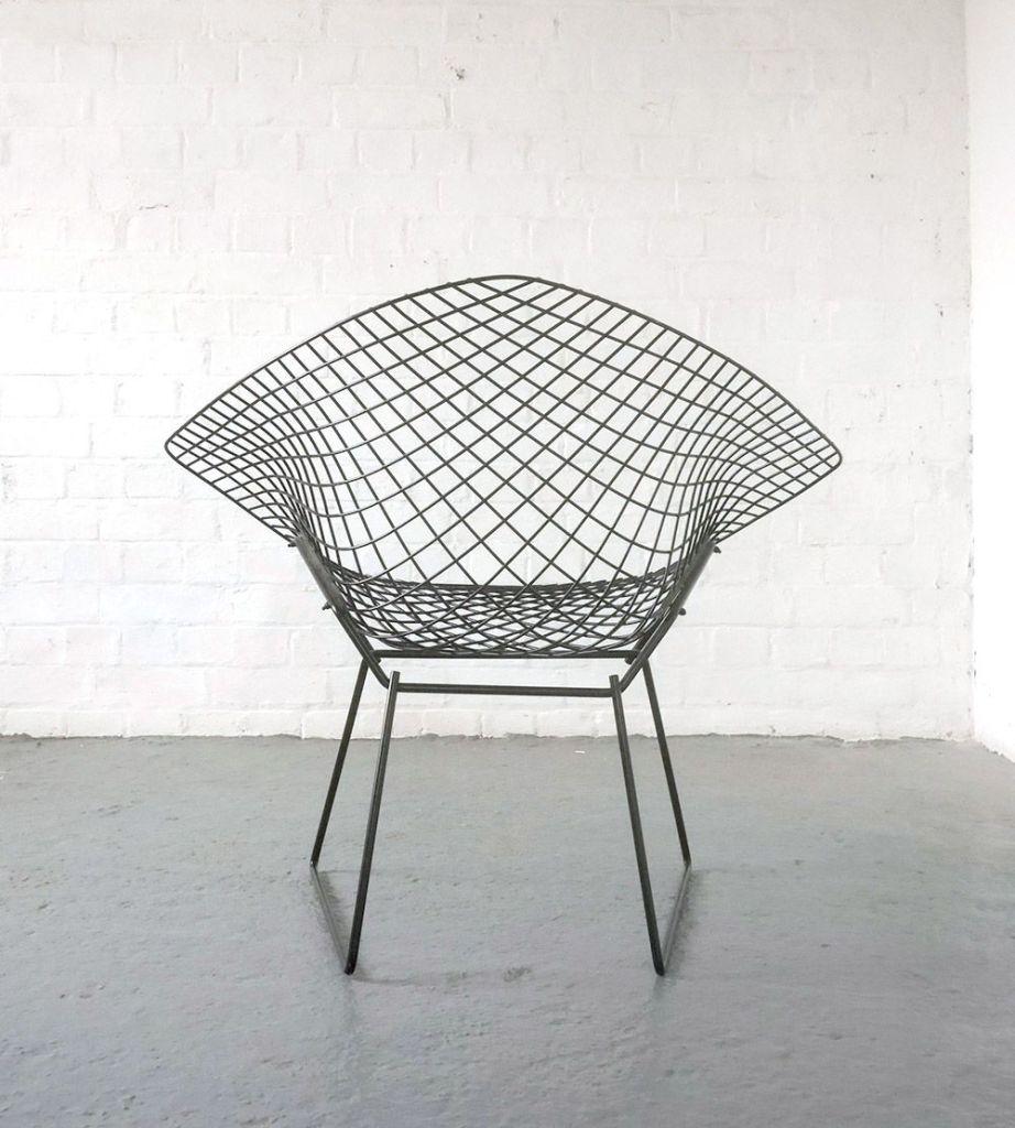 Harry Bertoia 1950s Diamond chair