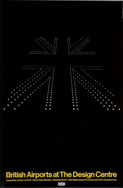 Marcello Minale, Brian Tattersfield. British Airports at the Design Center. 1980
