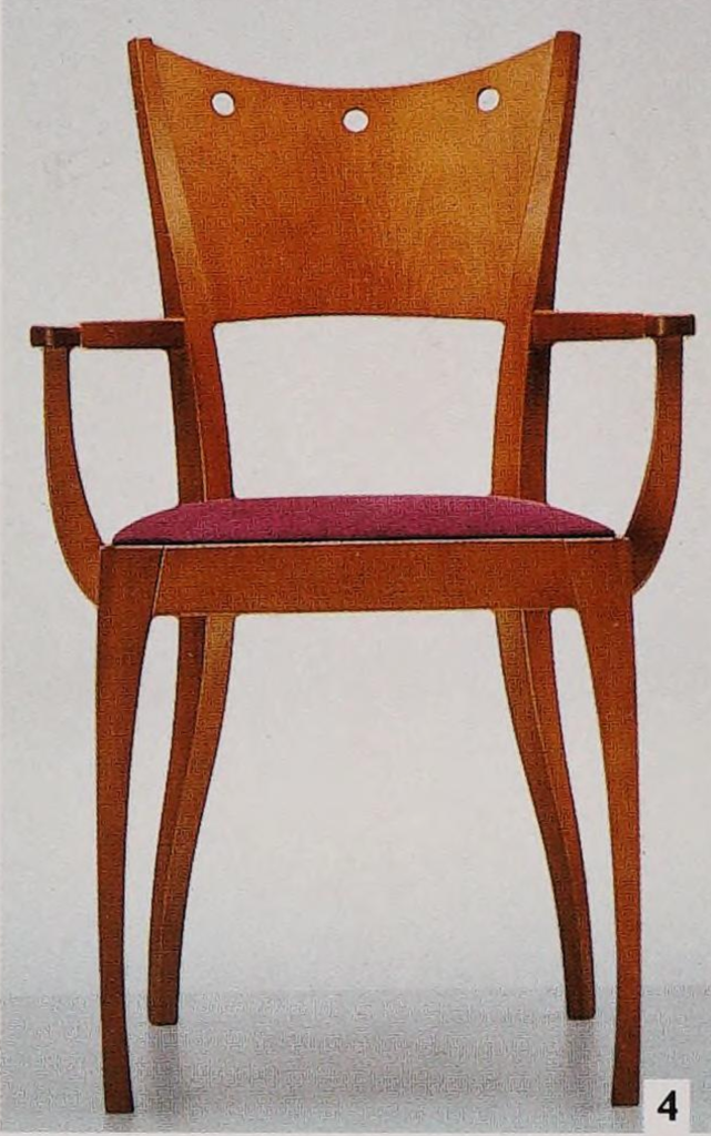 Arabesque chair by Pedro Miralles