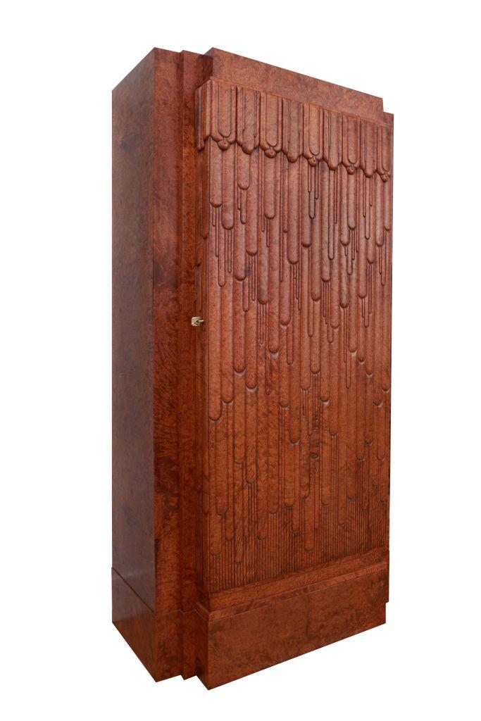 Art Deco Cupboard by Emile Bernaux
