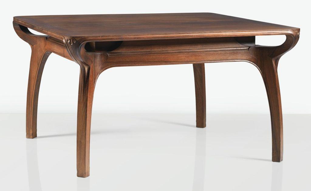 Art nouveau table by Eugenio Quarto