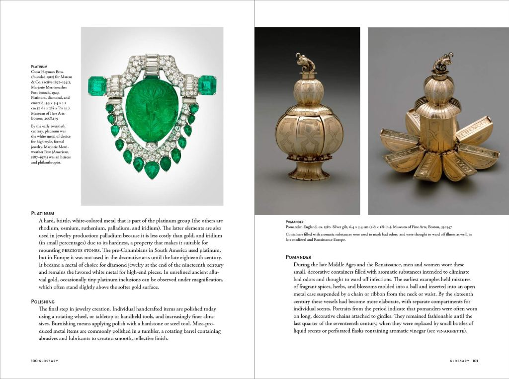Looking at Jewelry sample page