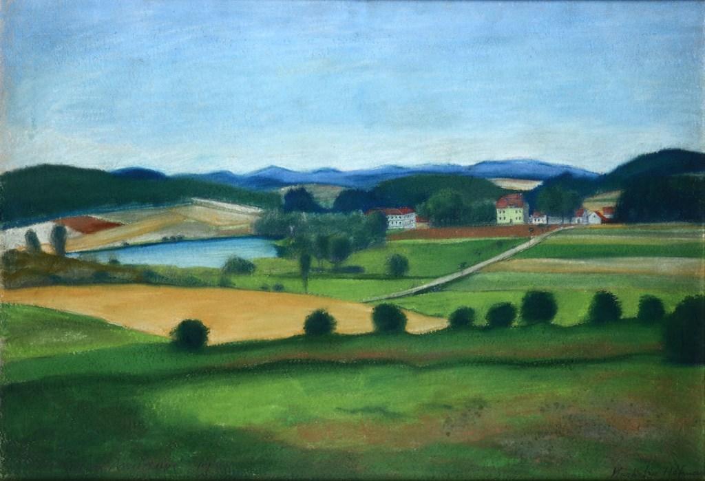 Paesaggio di campagna, 1938 designed by Vlastislave Hofman
