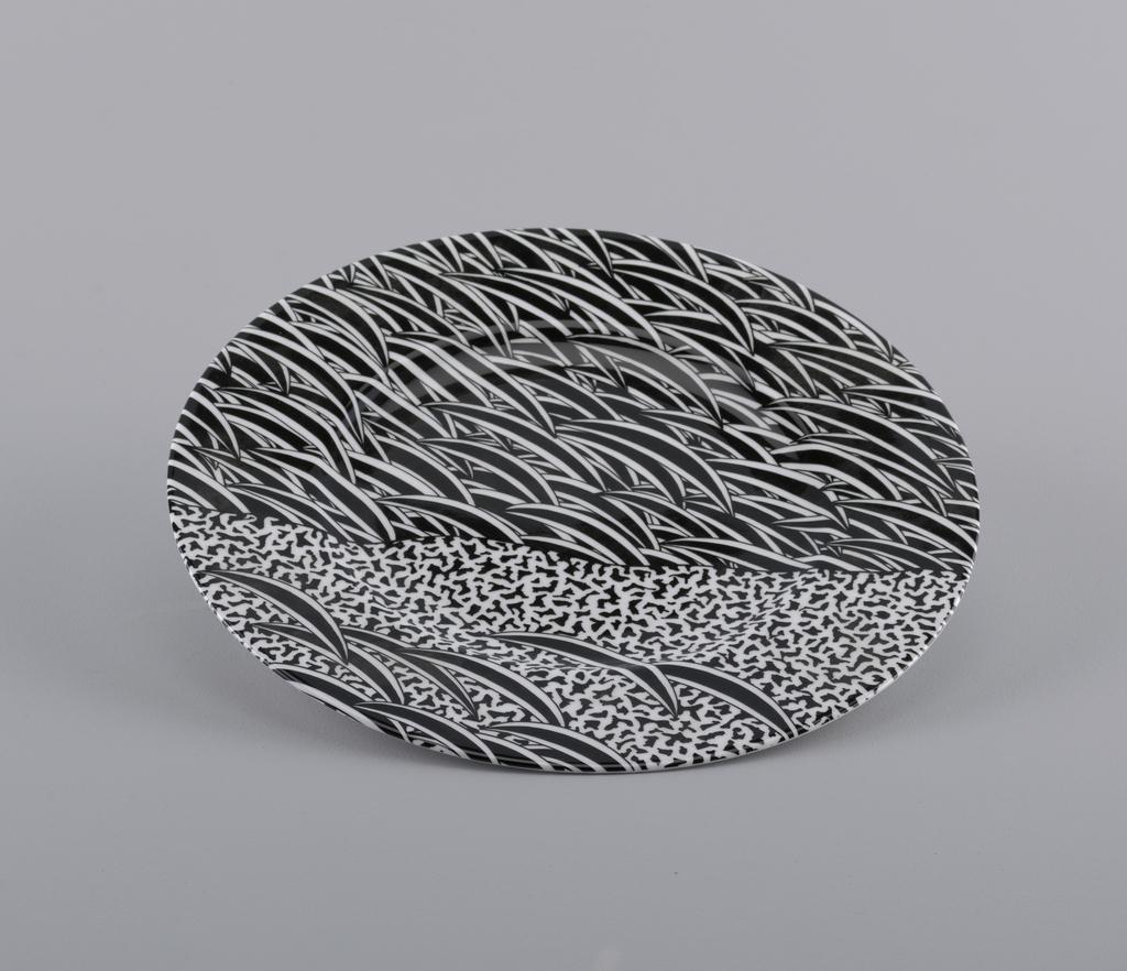 Seki Plate, 1988 designed by Hiroshi Awatsuji