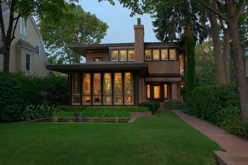 Purcell-Cutts house, 1913 George Grant Elmslie; Architect: William Gray Purcell