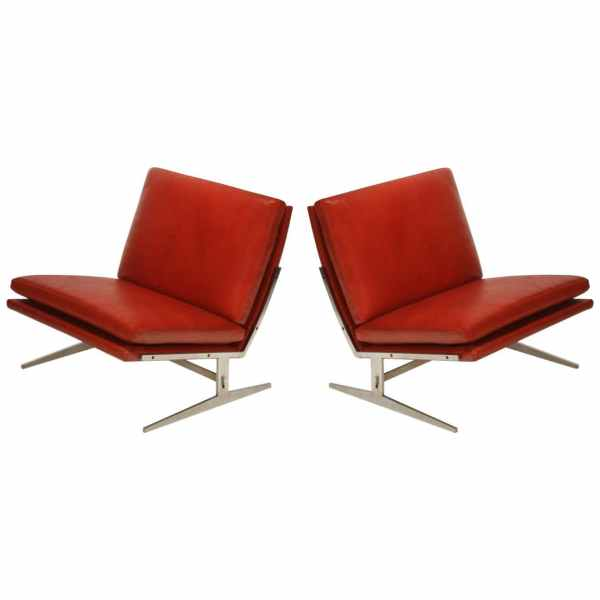BO-561 Lounge chairs by Preben Fabricius and Jørgen Kastholm