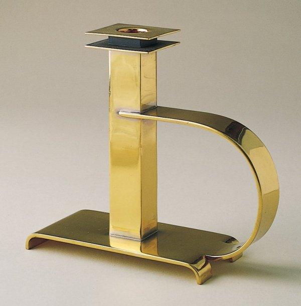 """Dee Handle"" candlestick, c. 1930 by Albert Reimann"
