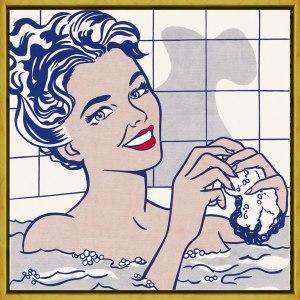 Woman in Bath by Roy Lichtenstein art print