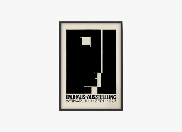 Bauhaus wall art print featured image