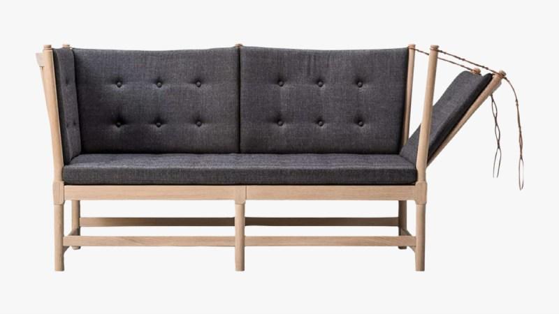 Børge Mogensen Spoke Back Sofa 1945, Fabric 1963