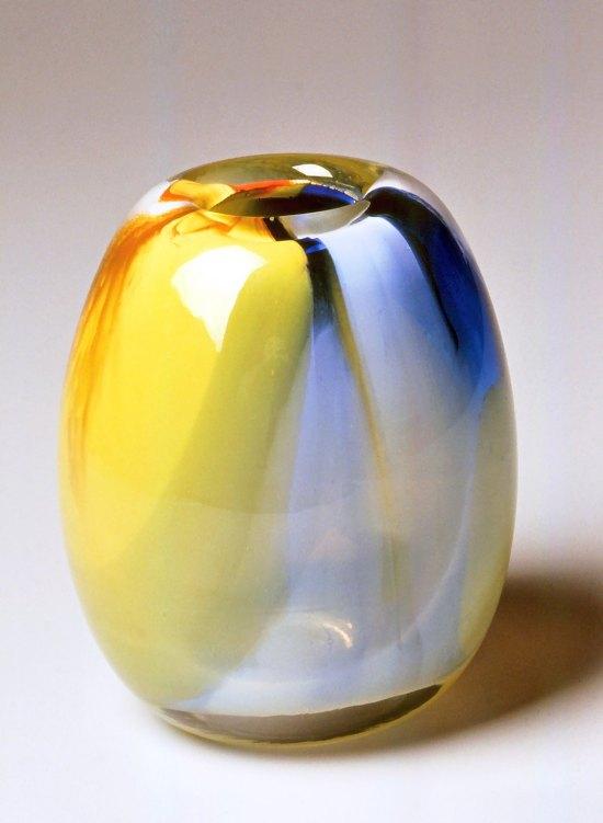 Dominick Labino (American, 1910-1987). Vase, 1974. Glass,