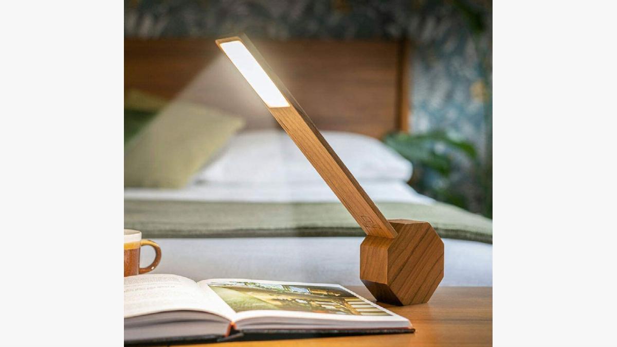 Gingko Octagon One Plus Portable Alarm Desk Light
