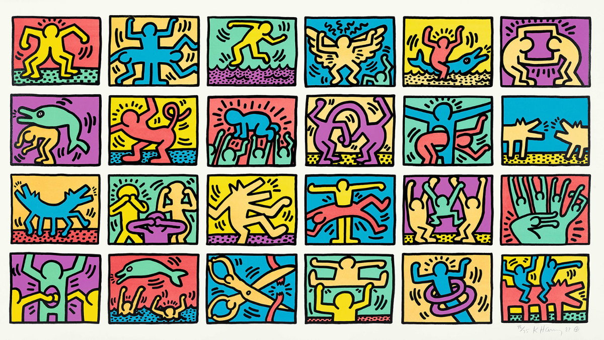 Keith Haring Inspiration 24 images
