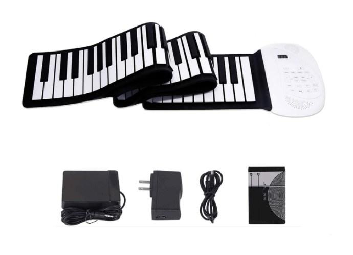 Roll up Piano keyboard