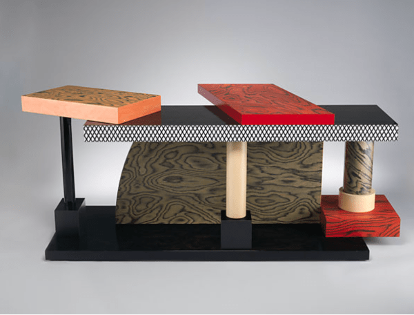 Tartar Table 1985 by Ettore Sottsass