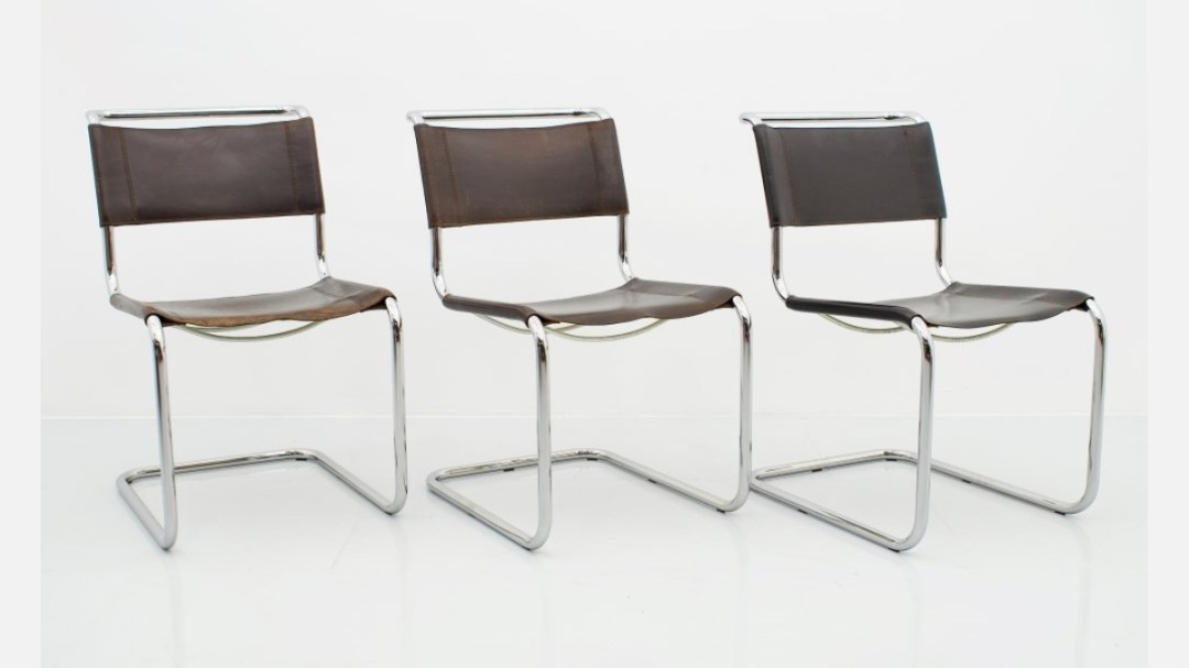 Tubular steel chair by Mart Stam - featured image