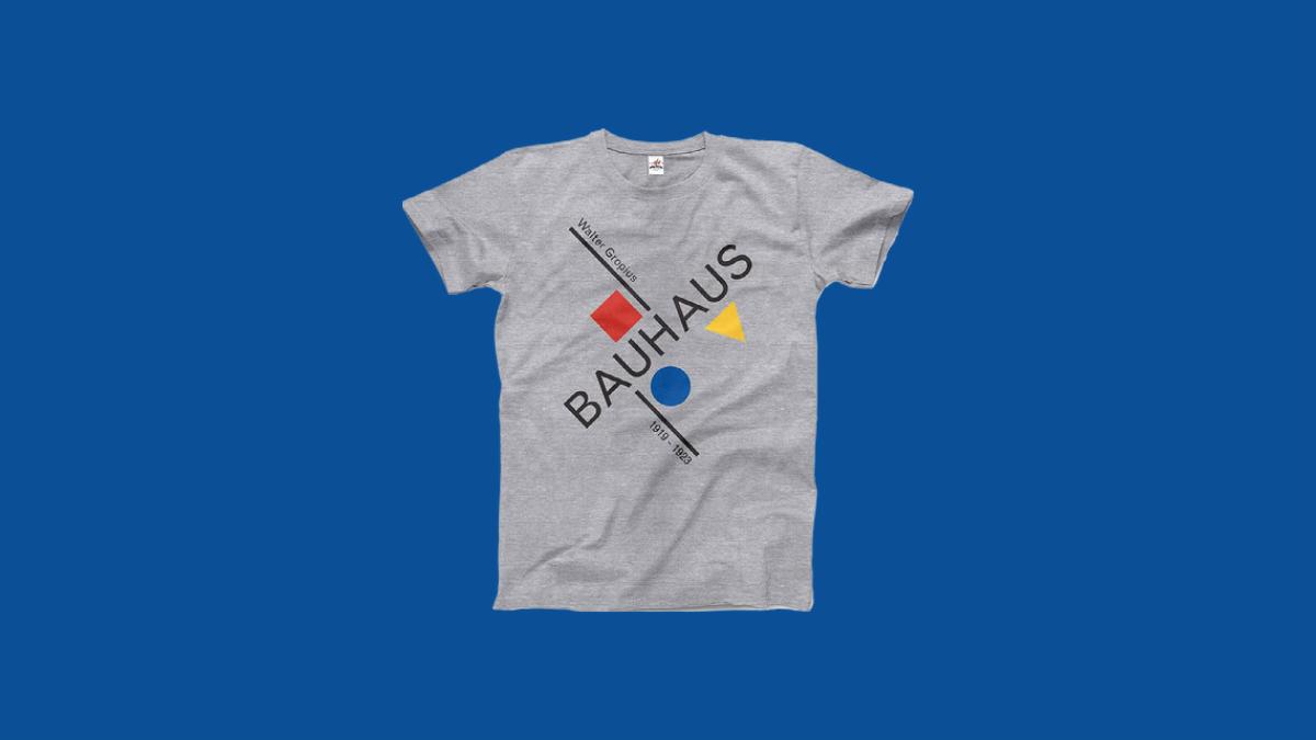Walter Gropius Bauhaus Tee Shirt