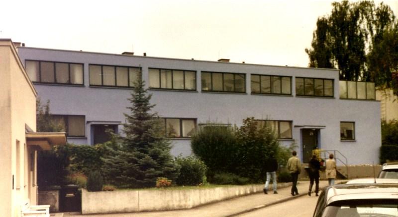 1927 Residence for Weissenhof Estate exhibition, Stuttgart Mart Stam