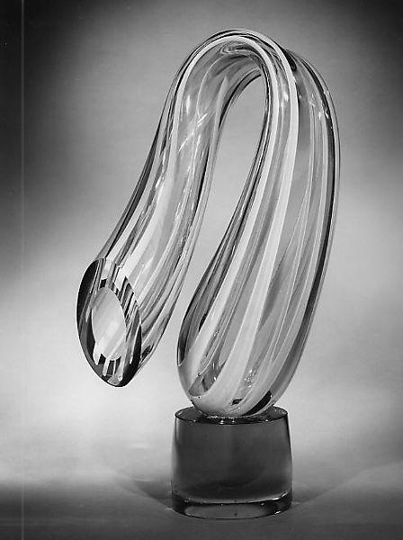 Harvey Littleton Amber Twist 1963