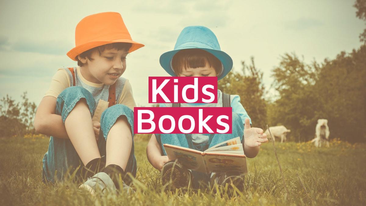 kids design books category